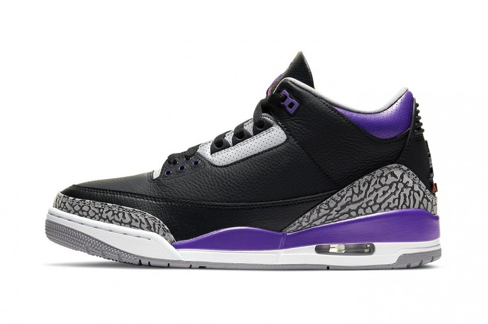 """The Air Jordan 3 """"Court Purple"""" Will Not Release in North America"""