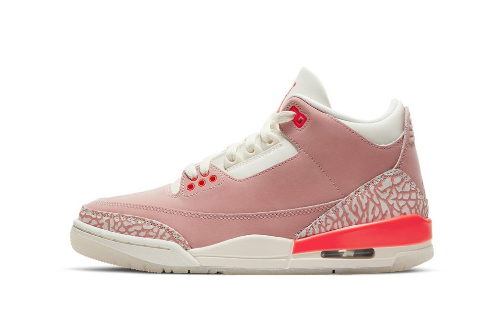 """The Air Jordan 3 """"Rust Pink"""" Set To Release This Spring"""