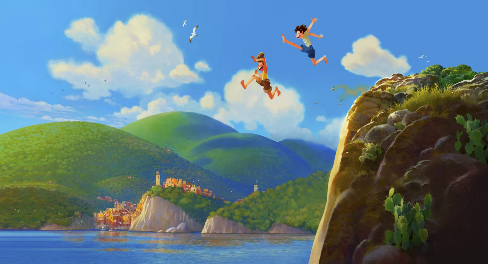 Disney and Pixar Release Teaser Trailer For New Animated Film 'Luca'