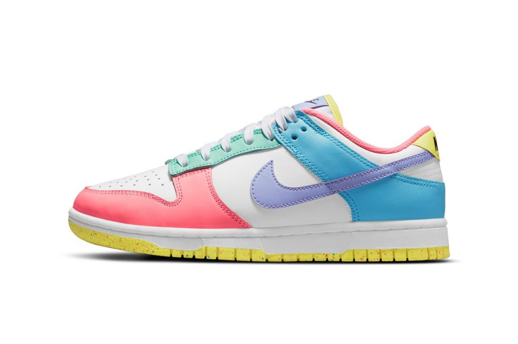 """Here are Official Images of the Nike Dunk Low """"Easter"""""""